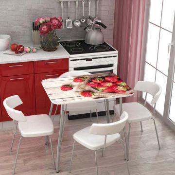 """Кухонный стол """"Стендмебель"""" с фотопечатью-фото"""