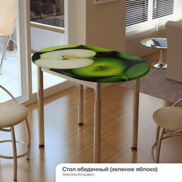 Стол обеденный с принтом-фото