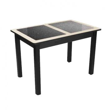 "Обеденный стол ""Квадро Kroko"" (опоры массив)-фото"