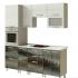Кухня модульная Титан компоновка 3